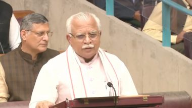 Manohar Lal Govt Issues Order Directing Haryana Govt Employees To Refrain From Participating In Any Election Activities