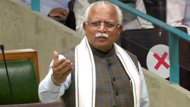Haryana: Farmers Hold Protest Against CM Manohar Lal Khattar in Rohtak