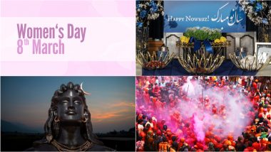March 2021 Holidays Calendar With Festivals & Events: Mahashivratri, International Women's Day, Holi; Know All Important Dates, List of Fasts & International Days for the Month