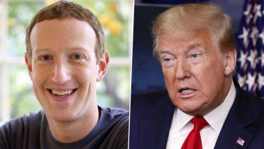 Facebook CEO Mark Zuckerberg Blames Donald Trump, Rioters for US Capitol Attack
