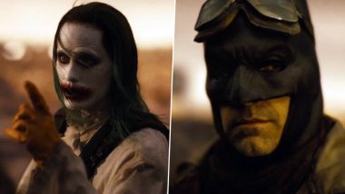Zack Snyder's Justice League: The Batman-Joker Epilogue Knightmare Scene That Fans Are Tripping On Was Shot With Ben Affleck And Jared Leto Separately