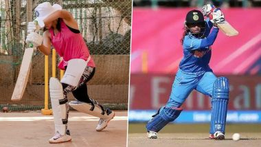 Shabaash Mithu: Taapsee Pannu Is Trying to Ace Mithali Raj's Cover Drive in Nets and Her Batting Stance Looks Impressive (See Pic)