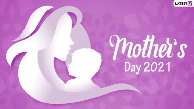 Happy Mother's Day 2021 Wishes & HD Images: WhatsApp Stickers, Facebook Messages, Telegram Greetings, Signal Quotes and GIFs to Send On Mothering Sunday