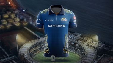 IPL 2021: Mumbai Indians' New Jersey Captures Composition of 5 Basic Elements of the Universe (Watch Video)