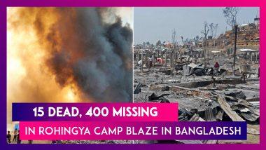 Bangladesh: Massive Fire At Rohingya Refugee Camp, Over 500 Injured, 400 Still Missing