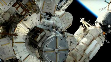 NASA Astronauts Mike Hopkins and Victor Glover Jr Successfully Completed Fifth Spacewalk of 2021