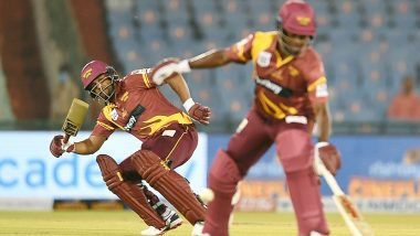 Dwayne Smith, Narsingh Deonarine Shine as West Indies Legends Beat England Legends by Five Wickets in Road Safety World Series 2021 (Watch Highlights)