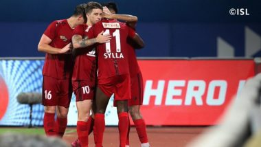 NEUFC 1-1 ATKMB, ISL 2020-21 Match Result: Idrissa Sylla's Late Equaliser Helps NorthEast United Play Out Draw Against ATK Mohun Bagan