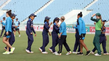 Live Cricket Streaming of India Women vs South Africa Women 3rd T20I 2021 on Star Sports and Disney+ Hotstar: Watch Free Live Telecast of IND W vs SA W on TV and Online