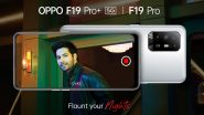 Bollywood Actor Varun Dhawan Roped In As Ambassador for Oppo F19 Pro Series