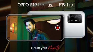 Live Updates: Oppo F19 Pro+, Oppo F19 Pro & Oppo Band Style Launched in India; Check Prices, Features, Variants & Specifications