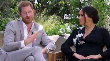 Meghan Markle and Prince Harry Oprah Interview: Tweeple Remember Princess Diana, Laud the Couple for 'Saving' Each Other & Choose Life 'Better Than a Fairytale'