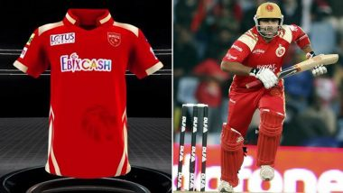 Punjab Kings Unveil New Jersey Ahead of IPL 2021, Fans Point Out Resemblance With RCB's Old Red-Golden Cladded Jersey