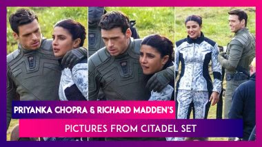Priyanka Chopra & Games Of Thrones Actor Richard Madden Have Undeniable Chemistry On Citadel Set, See Pictures Here