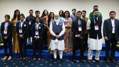 PM Narendra Modi Meets Shakib Al Hasan, Mashrafe Mortaza and Other Young Achievers of Bangladesh During His Dhaka Visit