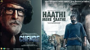 Amitabh Bachchan's Chehre to Rana Daggubati's Haathi Mere Saathi: Latest COVID-19 Spike Forces Filmmakers To Delay Releases