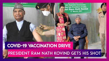 COVID-19 Vaccine: President Ram Nath Kovind, Union Min Dr S Jaishankar, Harsh Vardhan Get Their Jab
