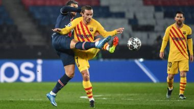 PSG 1–1 Barcelona Goal Video Highlights: Lionel Messi-Led Barca Knocked Out of UEFA Champions League