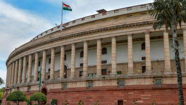 Parliament Monsoon Session 2021 Day 5 Live Streaming: Watch Live Telecast of Lok Sabha And Rajya Sabha Proceedings Online on YouTube