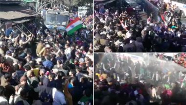 Uttarakhand Police Use Water Canon, Cane Charge on Locals Protesting in Nandprayag