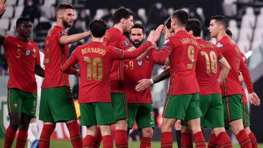 Luxembourg vs Portugal, FIFA World Cup 2022 European Qualifiers Live Streaming: Get Free Live Telecast of Football Match in IST
