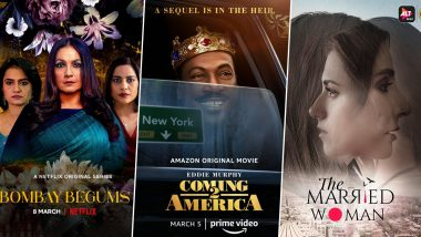 OTT Releases of the Week: Pooja Bhatt's Bombay Begums, Eddie Murphy's Coming 2 America, Monica Dogra's The Married Woman and More