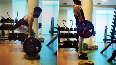 Prithviraj Sukumaran Showcases His Muscle Power by Deadlifting 140 Kilos of Weights (Watch Video)