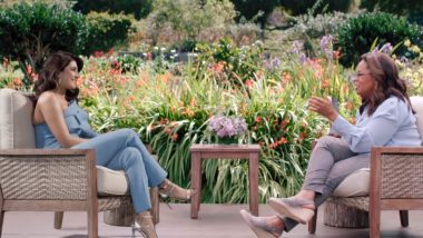 Priyanka Chopra Tells Oprah Winfrey How She Was Once Asked To 'Strip Down to Underwear' by a Bollywood Director