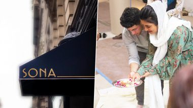 Priyanka Chopra Launches Indian Food Restaurant 'Sona' in NYC, Performs Puja With Nick Jonas (View Pics)
