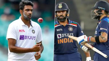 Ravi Ashwin Forced to Delete Tweet After India Lose Rohit Sharma, Shikhar Dhawan and Virat Kohli in Quick Succession During ODI Series Decider in Pune (Check Deleted Tweet)