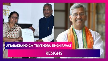 Trivendra Singh Rawat Resigns As Uttarakhand CM; Says Collective Decision Taken By The BJP Leadership In Delhi