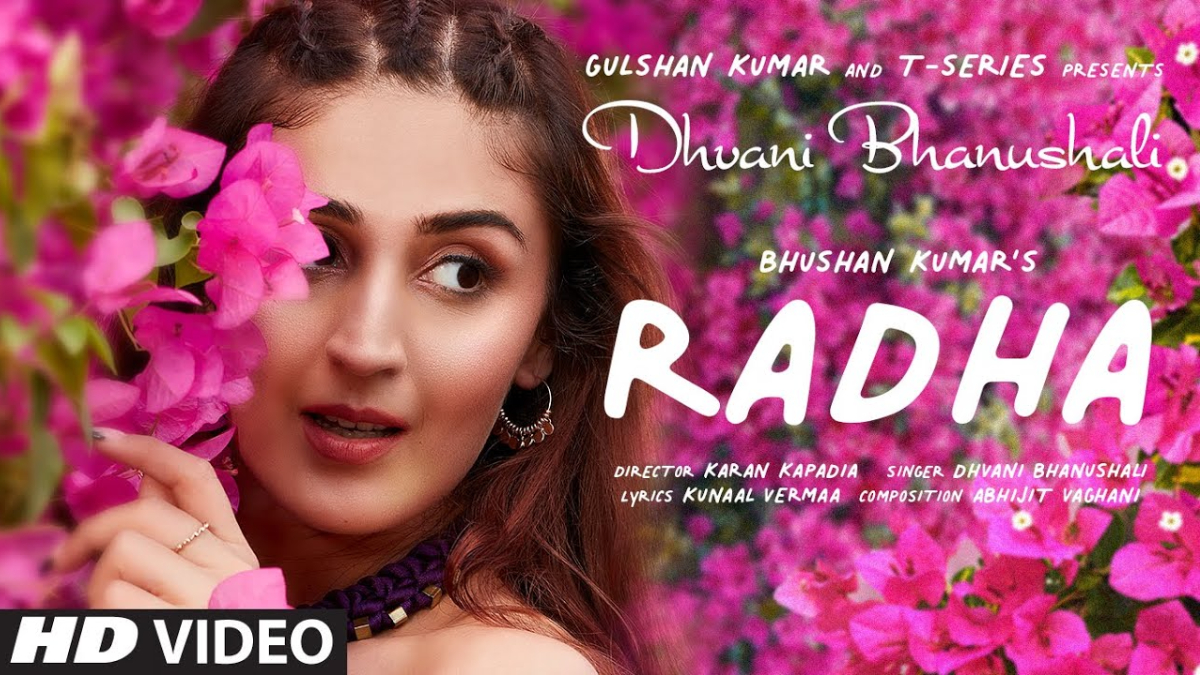 Radha Song Out! Dhvani Bhanushali's Birthday Treat for Her Fans Is a Peppy Melody (Watch Video)