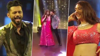 Rahul Vaidya and Disha Parmar Dance to Shah Rukh Khan's 'Tumse Milke' Song at a Friend's Sangeet (Watch Video)
