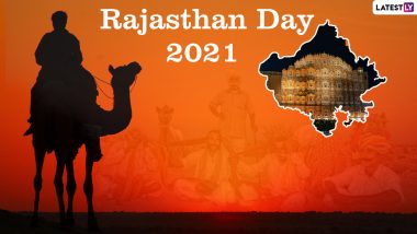 Happy Rajasthan Foundation Day 2021 Wishes & Greetings: Send Rajasthan Diwas Messages, HD Images, Rajasthan Day Quotes, Telegram Photos, and Signal Messages