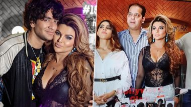 Bigg Boss 14 Get-Together: Rakhi Sawant Meets Nikki Tamboli, Vikas Gupta, Rahul Mahajan and More (See Pics)
