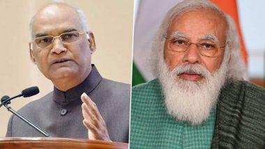 Etawah Road Accident: President Ram Nath Kovind, PM Narendra Modi Condole Loss of Lives in Uttar Pradesh Truck Accident