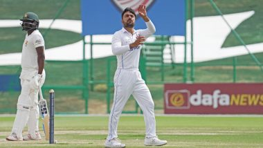 Rashid Khan Creates Record for Bowling Most Overs in a Test in 21st Century, Achieves Feat During Afghanistan vs Zimbabwe 2nd Test 2021
