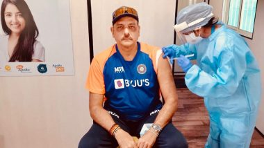 Ravi Shastri, Indian Cricket Team Head Coach, Gets First Dose of COVID-19 Vaccine, Shares Pic