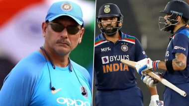 Ravi Shastri Helped Rohit Sharma, Virat Kohli to Solve Differences, Renew Friendship During India vs England Series, Says Report