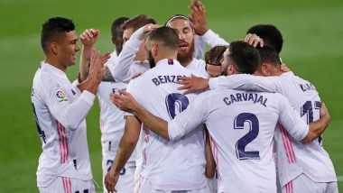 How To Watch Real Madrid vs Osasuna, La Liga 2020–21 Live Streaming Online in IST? Get Free Live Telecast and Score Updates of Football Match on TV in India