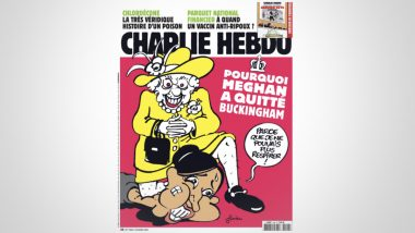 Charlie Hebdo Magazine Cover Recreates George Floyd Killing With Meghan Markle And Queen Elizabeth, Netizens Are Furious; See Tweets