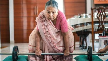 Fitness Has No Age! Kiran Bai, 83-Year-Old Granny From Chennai, Lifts Weight & Does Strength-Training Exercises Like A Pro In a Sari (See Pics and Videos)