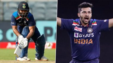 India vs England 3rd ODI 2021 Stat Highlights: Rishabh Pant, Shardul Thakur Shine; Sam Curran's Record-Breaking Knock Goes in Vain as Hosts Clinch Series Decider