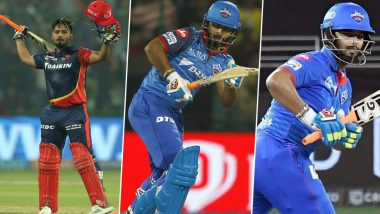 Rishabh Pant to Lead Delhi Capitals in IPL 2021: A Look back at the Wicket-Keeper Batsman's IPL journey As He Makes Captaincy Debut