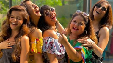 Rubina Dilaik Enjoys Fun Day With Friends, Spreads Happy Vibes (View Pics)