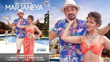 Marjaneya: Neha Kakkar Shares First Look Poster of Rubina Dilaik, Abhinav Shukla's Upcoming Song