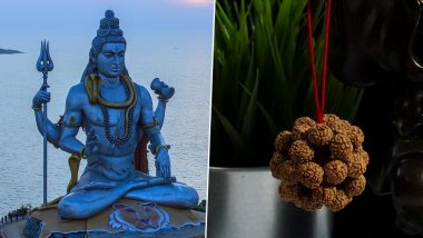 Mahashivratri 2021: Types, Rituals & Importance of Wearing Rudraksha on Maha Shivratri; Know More About The Bead That Is Known to Have Been Created From Lord Shiva's Tears