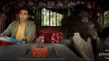 Say Hello To Charlie Teaser: Aadar Jain And A Gorilla Take A Funny Ride With Fukrey And Zindagi Na Milegi Dobara (Watch Video)