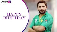 Shahid Afridi Birthday Special: Lesser-Known Facts About the Pakistan Great