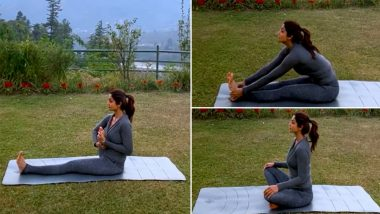 Shilpa Shetty Shares Monday Motivation, Suggests Yoga To Heal the Body Injury (Watch Video)